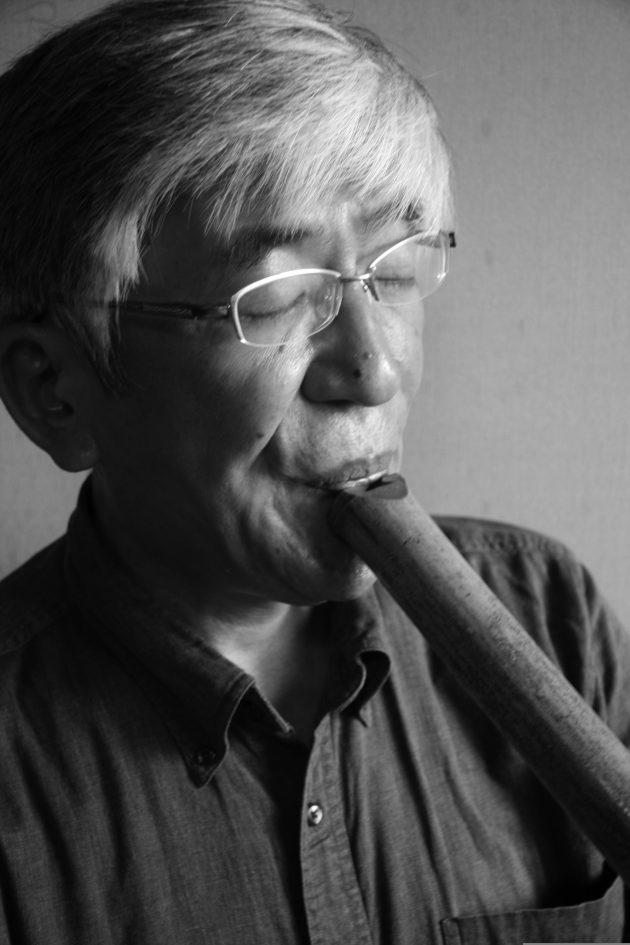 Shakuhachi traditional Japanese flute