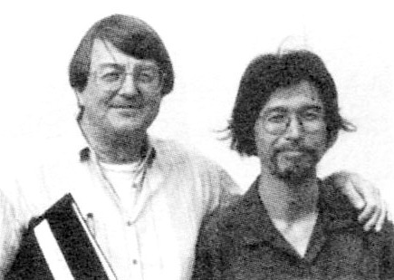 Co-translators Yasuhiko Moriguchi & David Jenkins