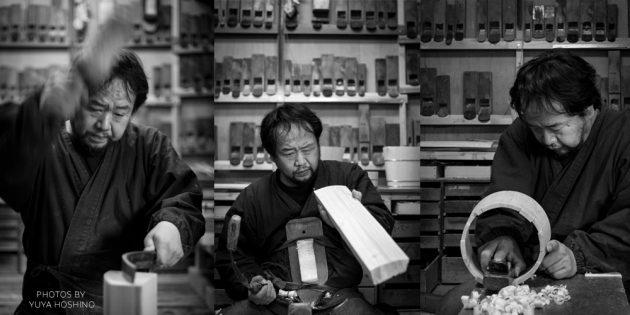 Nakagawa Shuji Kyoto Journal handmade craft wood oke bucket Japan workshop