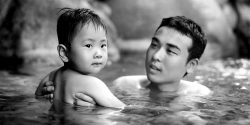 Mark Edward Harris onsen Japanese bath Kyoto Journal photography