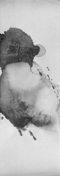 Christine Flint Sato sumi Japanese ink painting art Kyoto Journal 01