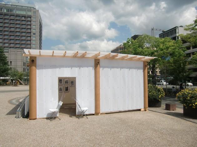Shigeru Ban Pavilion