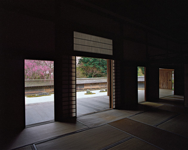 """Ryoanji, from """"View, Kyoto"""" by Photo Artist Jacqueline Hassink"""