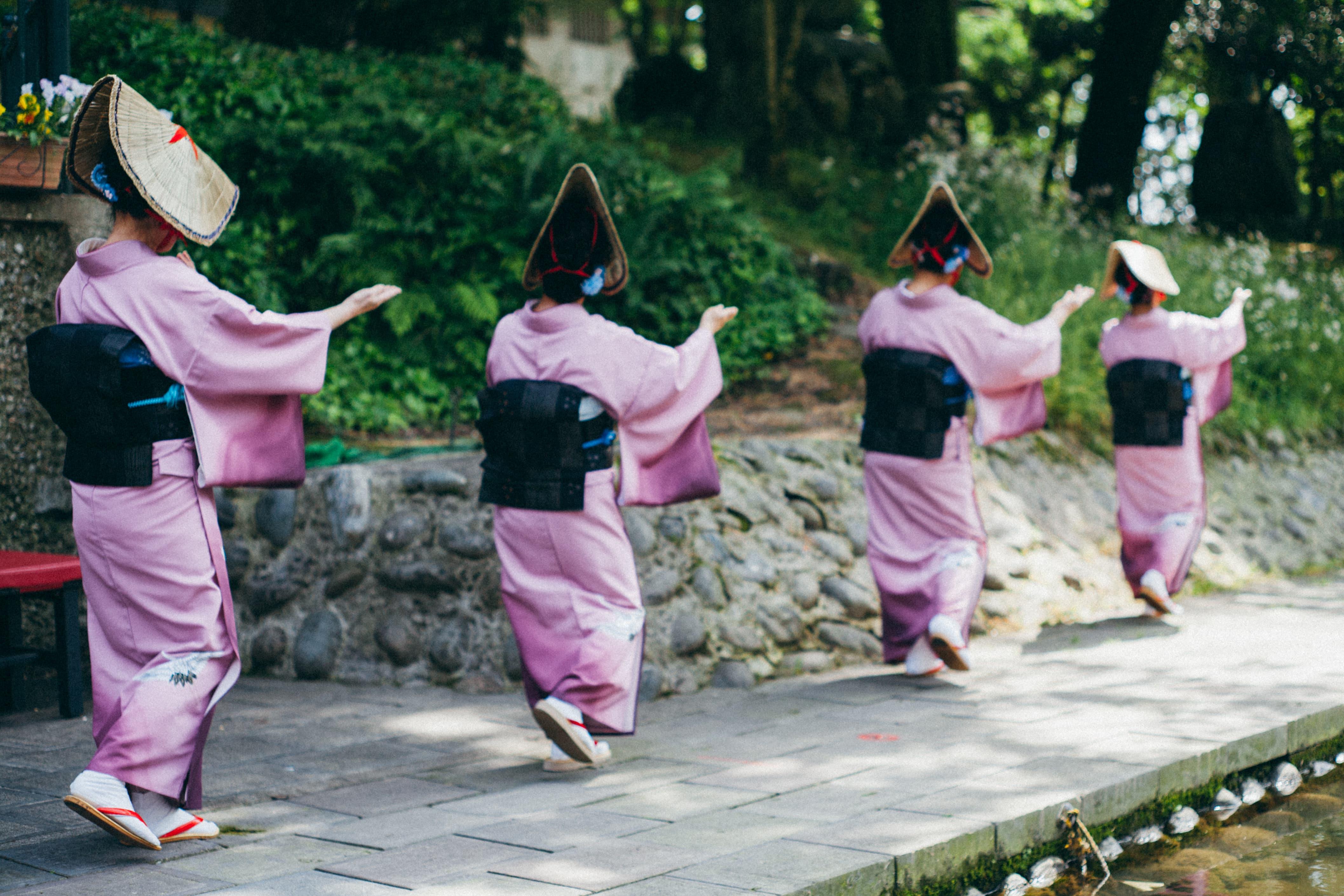 Owara dance Japan Toyama