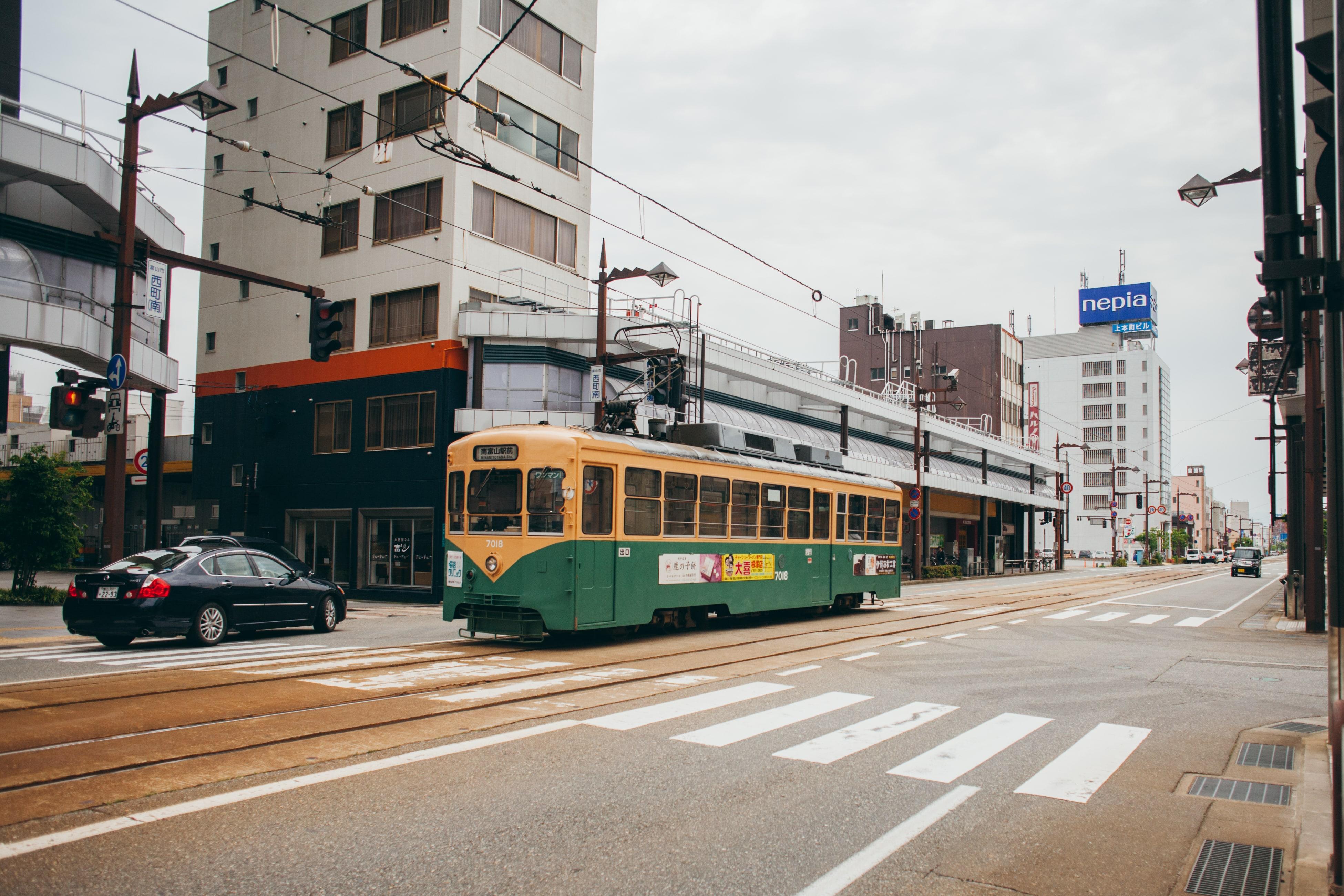 Toyama tram