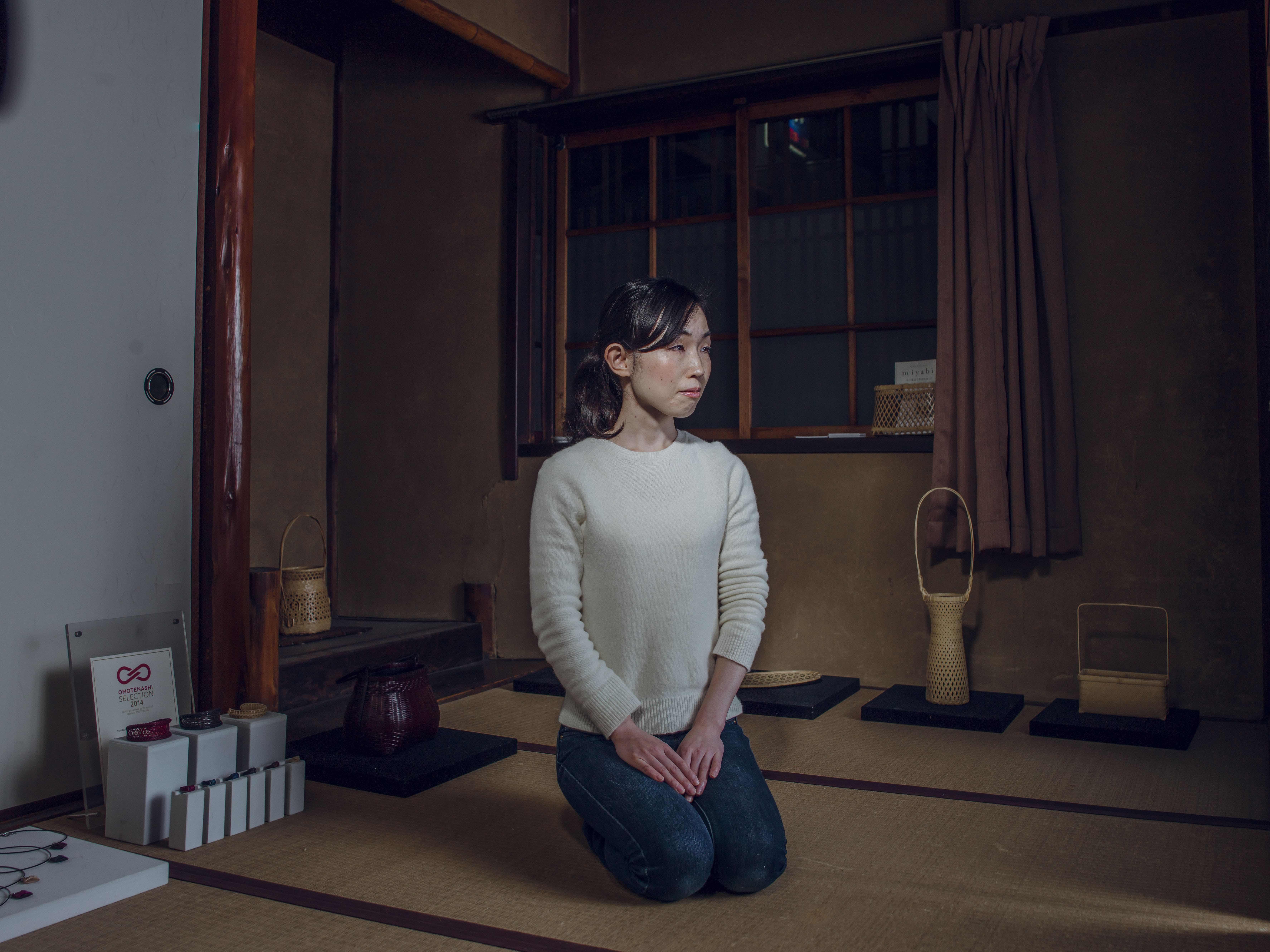 Chiemi Ogura Bamboo Craftswoman Kyoto Journal