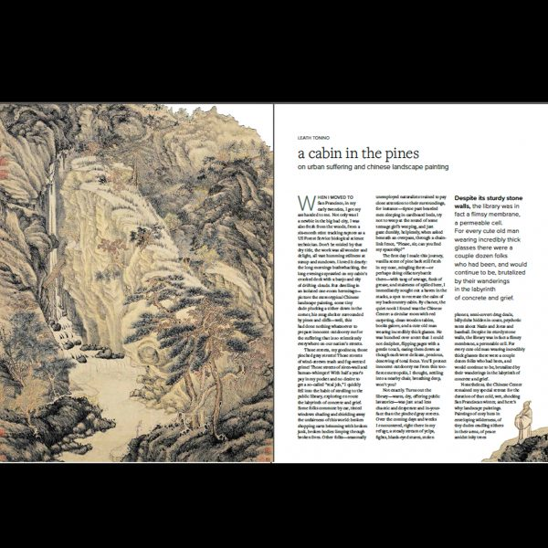 Kyoto Journal Issue 91 A Cabin in the Pines