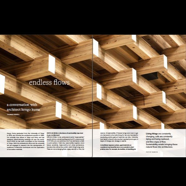 Kyoto Journal Issue 91 Endless Flows
