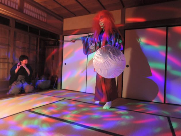 Noh performance Kyoto Japan