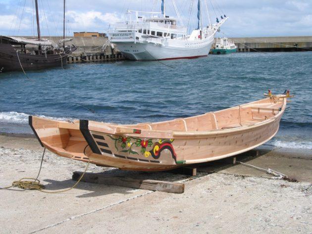 Japanese boat making