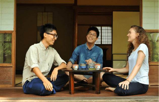 Interview with tea practitioners in Kyoto Japan