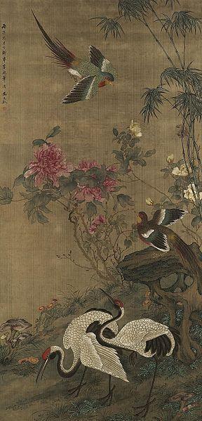 288px-Ma-yuanyu-1669-1722-china-cranes-birds-and-peonies