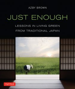 Just Enough Living Green Traditional Japan Tuttle Cover