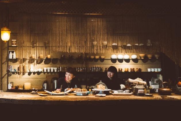 somushi korean teahouse staff counter sign minechika endo