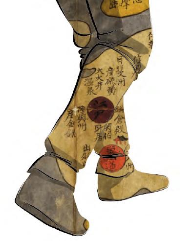 jerome boubles illustration kumano kodo