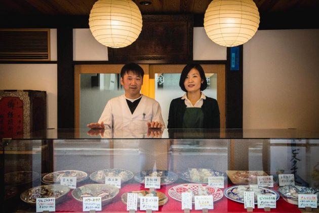 Mochihyo mochi sweets wagashi Otsu Shiga Japan