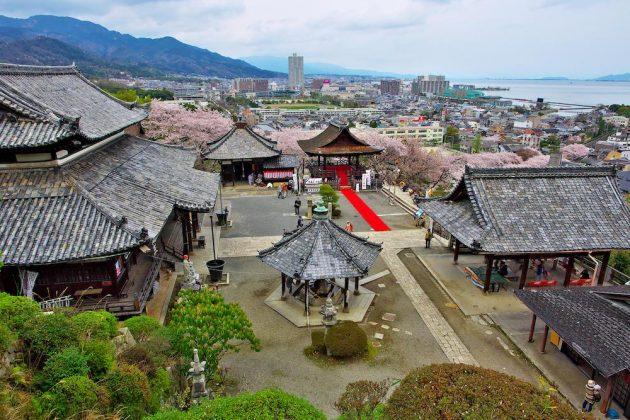 Miidera Temple Hachise Otsu Hyakucho renovated machiya