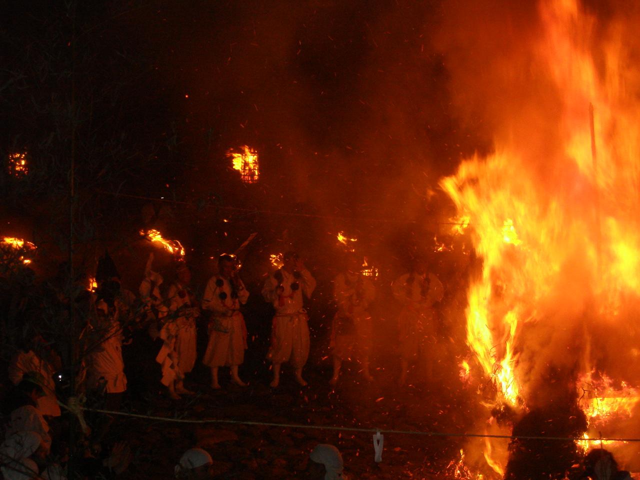 Yamabushi fire rites