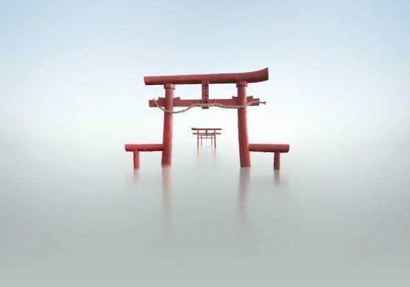Infinity sea shrine Loscar Numael Japan